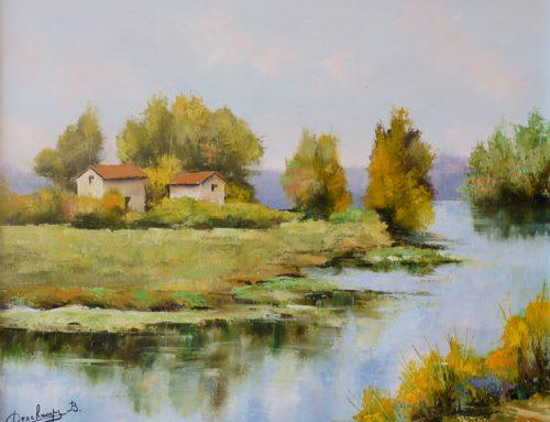 La Saône à Rigny